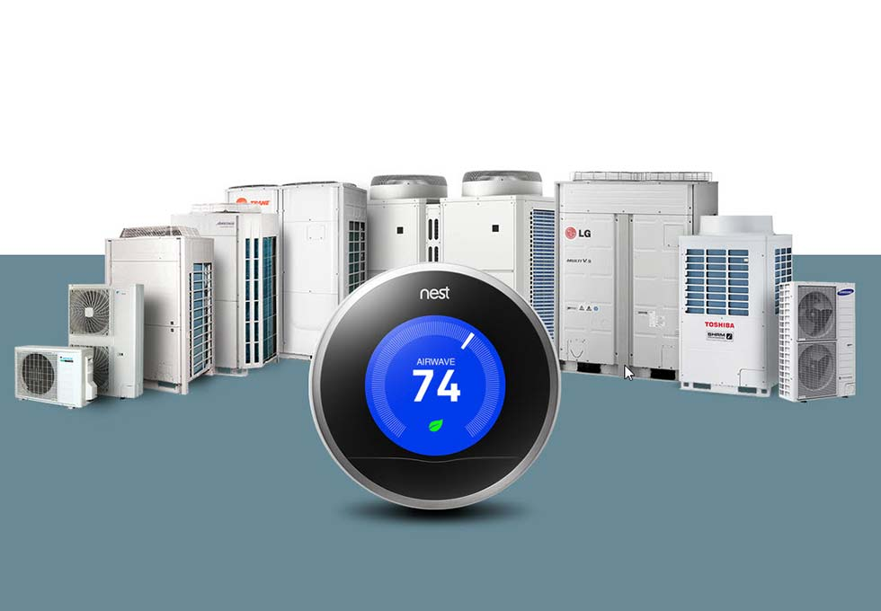 Термостат NEST - интеграция с HVAC VRF, split, multi-split